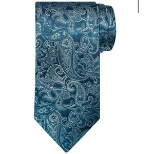 Michael Kors Narrow Paisley Tie